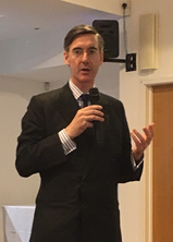 Jacob Rees-Mogg delights Dartford