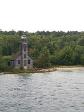 The Grand Island East Channel Lighthouse, Munnising, Michigan