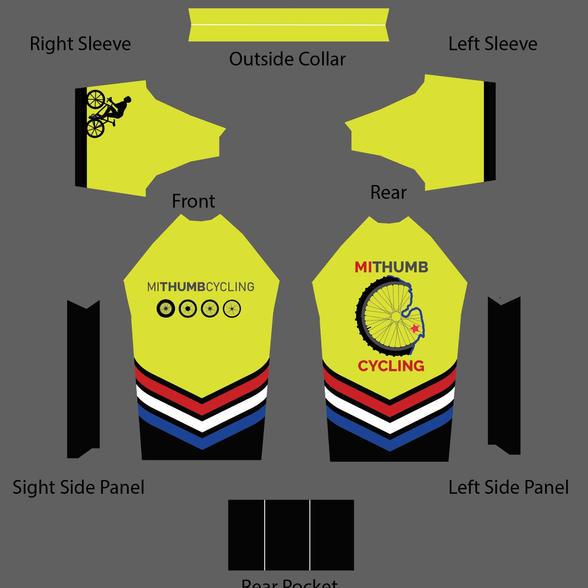 Mi Thumb Cycling-Jersey Design