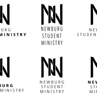 Final Logo with typography roughs