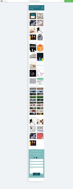 Graphic Design Portfolio Page-Phone