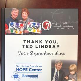 Ted Lindsay Foundation-Book