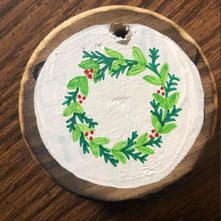 Hand Painted Christmas Ornament.JPG