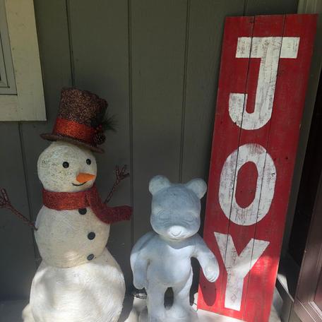 Joy Porch Sign