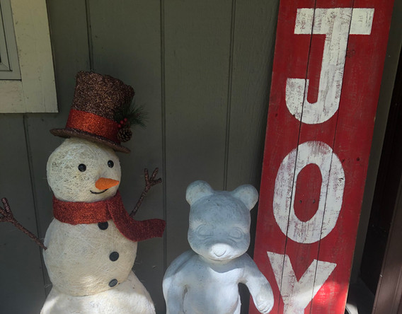 Joy Porch Sign