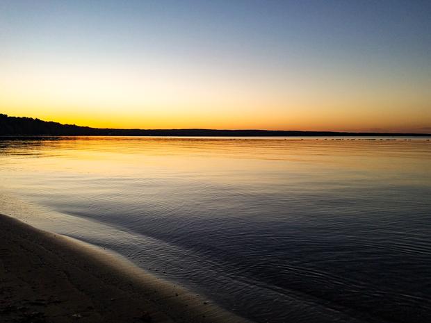 Burt Lake Sunset