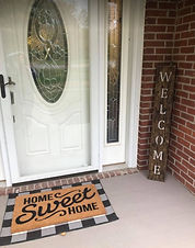 Welcome Sign-Reclaimed Wood