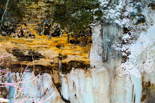 Ice Formations at Pictured Rocks
