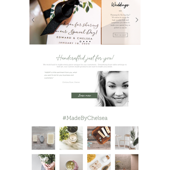 CR Designs-Website