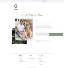 CR Designs-About Page