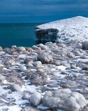 Lake Huron Winter Ice Formations