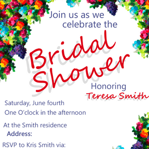 Wedding Shower Invites