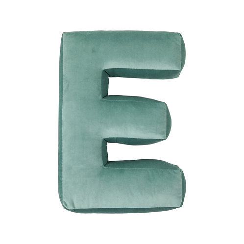 Velvet Letter E Mint