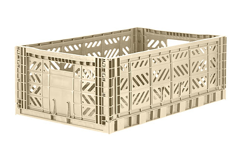 Aykasa Maxi Folding Crate in Boulder