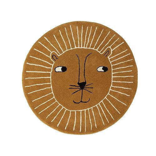 Lion Rug - Caramel