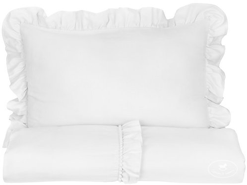Bed Linen JUNIOR Boho 100x135cm White