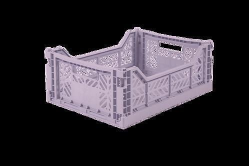 Aykasa Midi Foldable Crate in Orchid