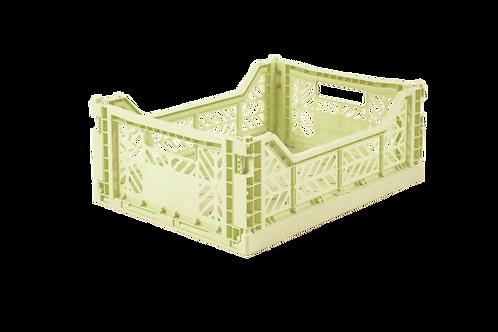 Aykasa Midi Foldable Crate in Melon