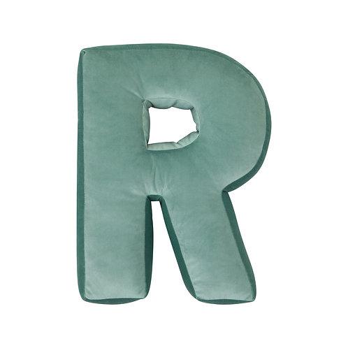 Velvet Letter R Mint
