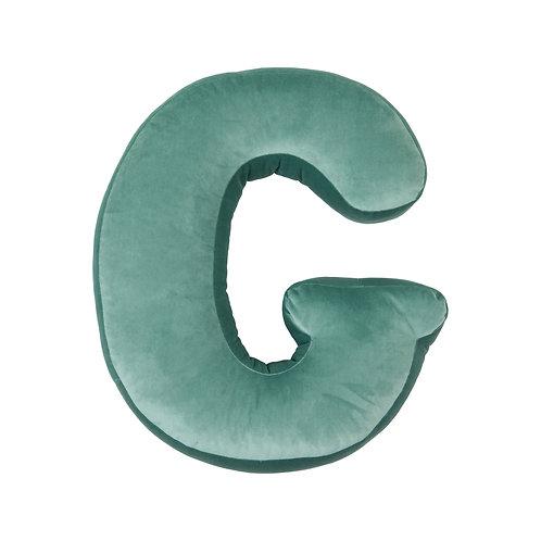 Velvet Letter G Mint