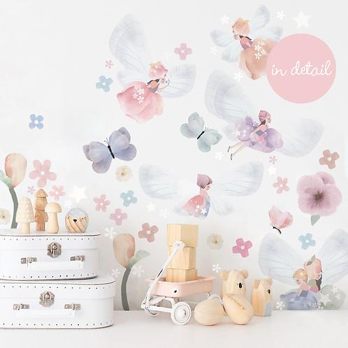 Extra Sheet - Fairy Garden Wall Sticker