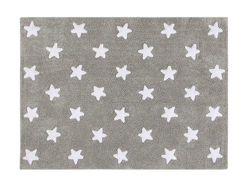 Lorena Canals Washable Rug Stars Grey-White