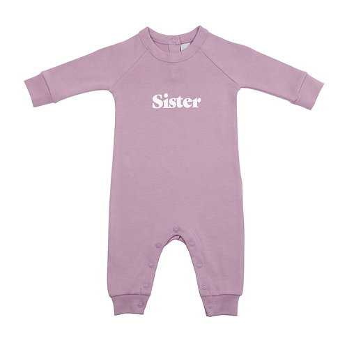 Dusty Violet 'SISTER' all-in-one