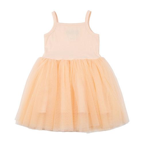 Soft Apricot Dress