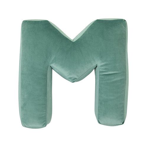 Velvet Letter M Mint