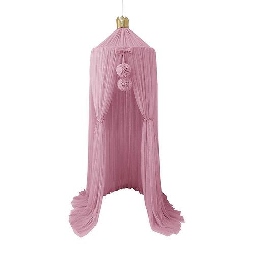 Dreamy Canopy + 1 Pom Garland in Blush set