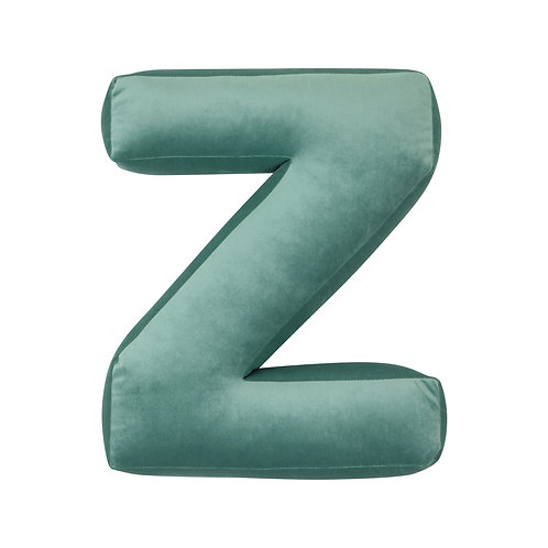 Velvet Letter Z Mint