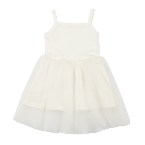 Bunnytail White Dress