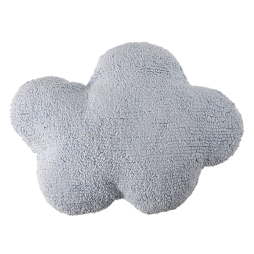 Washable Cushion Cloud - Blue