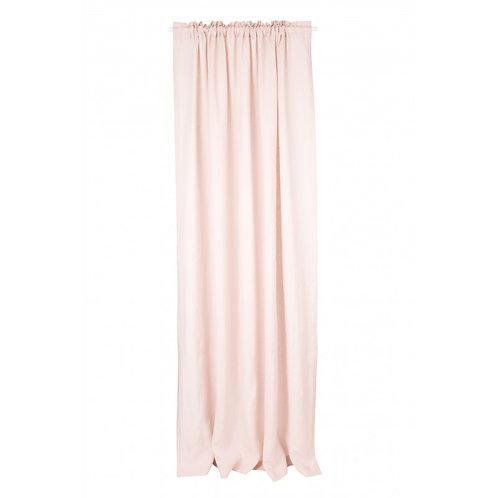 Linen Curtain Pure Nature - Powder Pink
