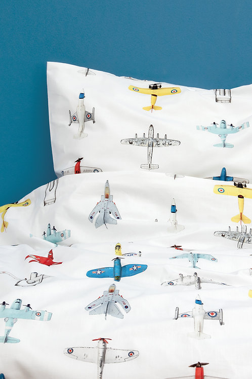 Airplanes duvet cover - 140 x 220cm