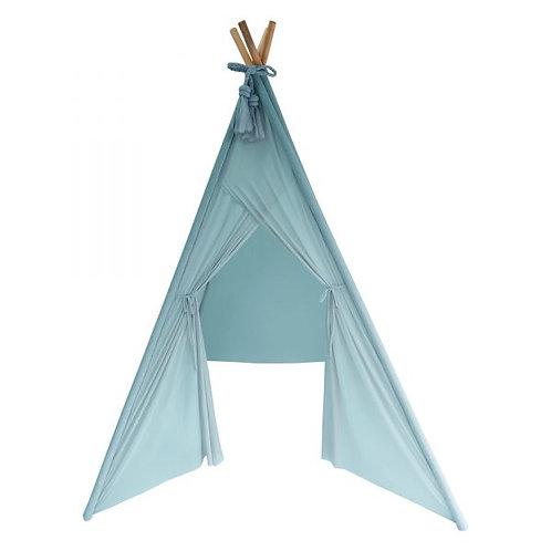 Sheer Teepee in Minty Blue