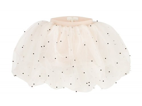 Pearl Ballerina Skirt Beige
