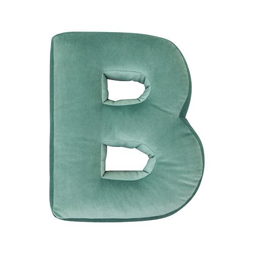 Velvet Letter B Mint