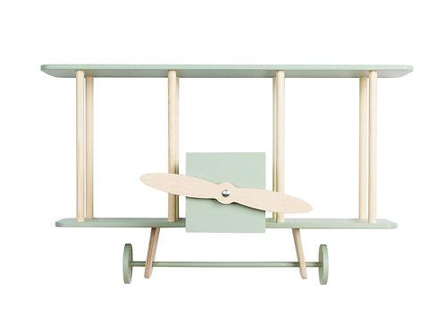 "Up! warsaw Biplane shelf ""Dashy"" Sage"