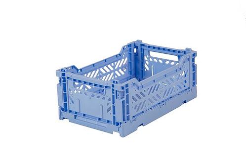 Aykasa Mini Foldable Crate in Baby Blue