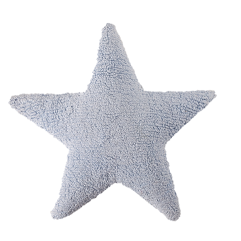 Lorena Canals Washable Cushions Star - Blue