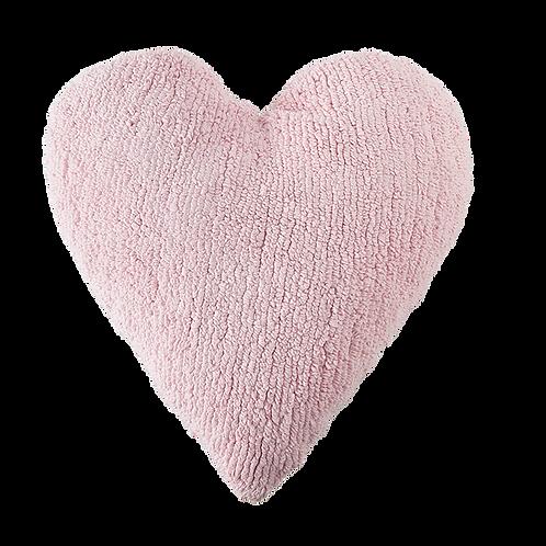 Lorena Canals Washable Cushion Heart - Pink
