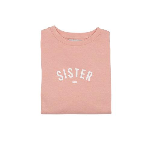 Blush 'SISTER' sweatshirt