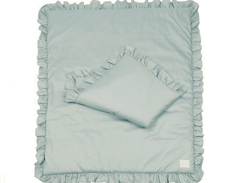 Simply Glamour with Ruffles - Filled - Mint 80x100cm