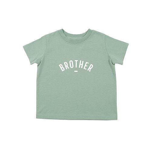 Sage 'BROTHER' t-shirt