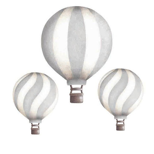 Light Grey Vintage Balloon Set