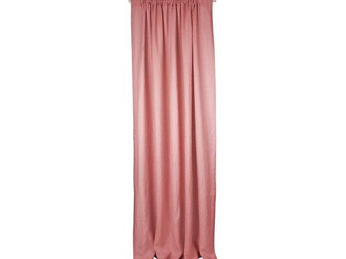 Linen Curtain Pure Nature - Blush