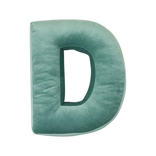 Velvet Letter D Mint