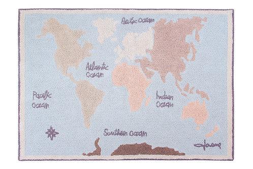 Lorena Canals Vintage Map Machine Washable Rug
