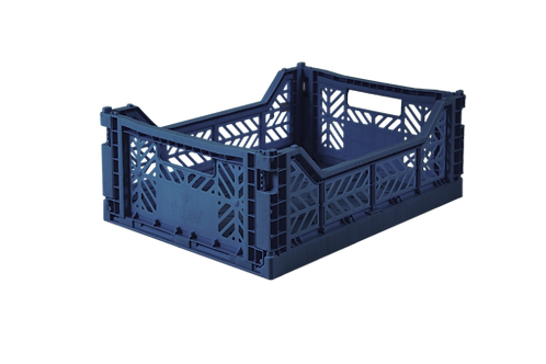Aykasa Midi Foldable Crate in Navy